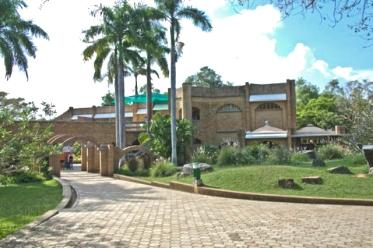 Pavilhão para visitantes